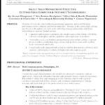 Reverse Chronological Resume