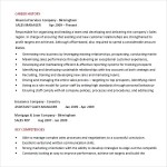 Sales Manager Resume Template PDF