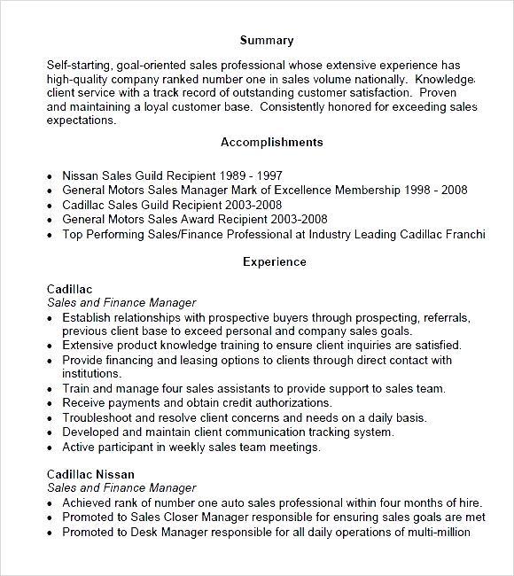 sales manager sle resume panoramic resume pdf free