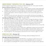 Sales and Marketing Manager Resume Sample PDF Sample