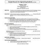 Sample Automobile Resume Template