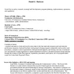 Sample Basic Resume Format