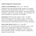 Sample Cv PDF Graphic Designer