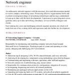 Sample Network Engineer Resume Template