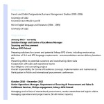 Sample Resume for BPO Experienced
