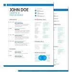 Swiss Style Resume Format