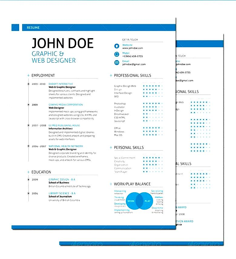 swiss style resume format