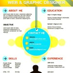 Web Designer PSD Resume Templates
