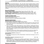 Curriculum Vitae Format Doctor