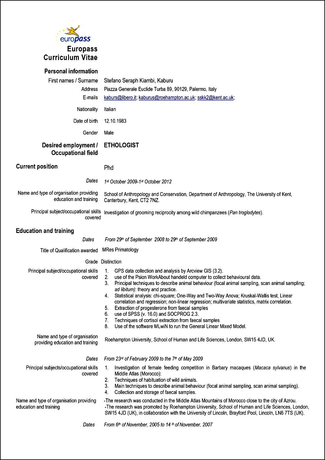 Queensland Government Resume Templates Ebook Database