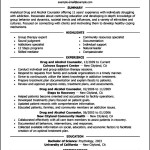 Curriculum Vitae Template For Counselors
