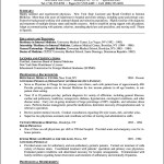 Curriculum Vitae Template For Physicians