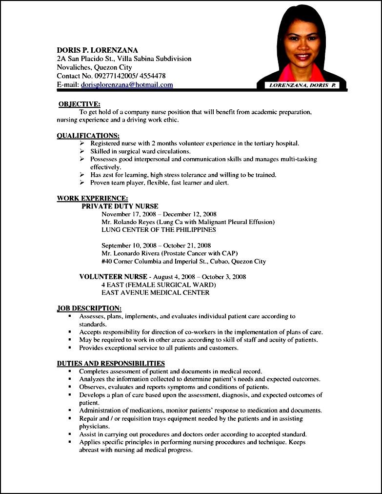 What Should Go On A Professional Resume