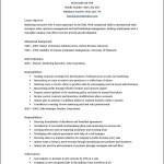Curriculum Vitae Template Word