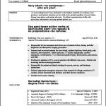 Nurse Curriculum Vitae Sample