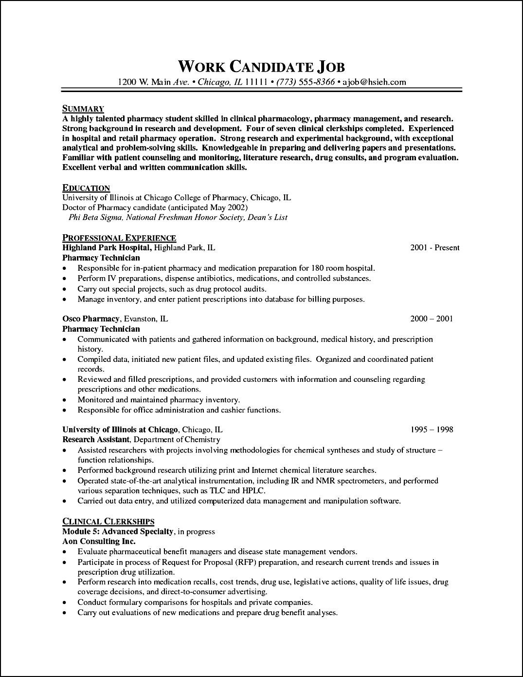 Pharmacy-Curriculum-Vitae-Example Sample Curriculum Vitae Format Professor on download free, professors academic professional, current type, best dentist, lhv base, standard bou,