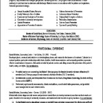 Sample Curriculum Vitae For Social Workers