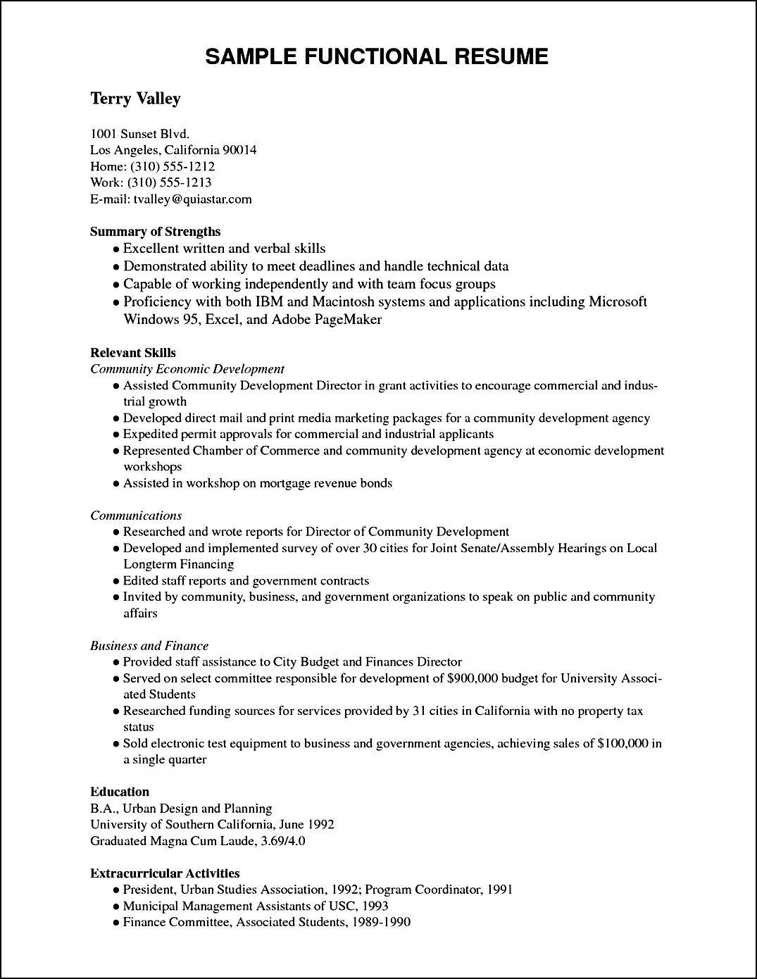 Sample Curriculum Vitae Pdf | Free Samples , Examples ...