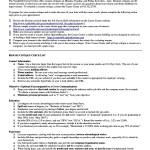 Academic Resume Template For Grad School