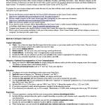 Academic Resume Template For Grad School