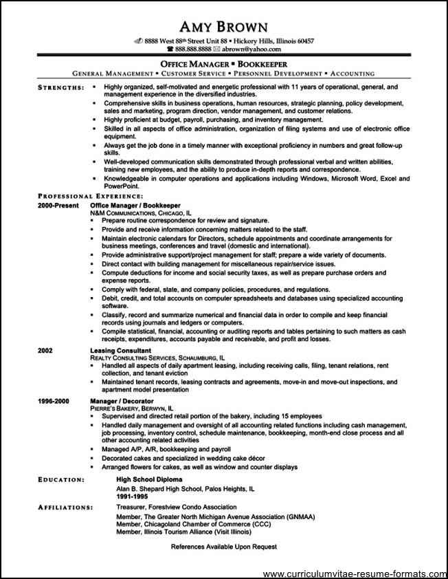 Administrative Project Coordinator Resume