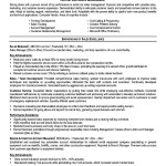 Resume format for automobile sales executive
