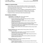 Creating A Resume In Open Office
