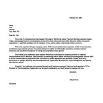 Executive Resume Cover Letters