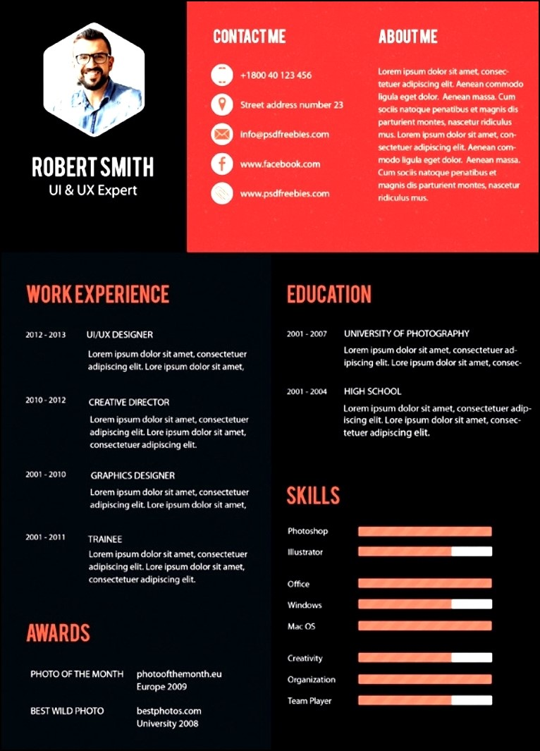 free modern resume templates 2016
