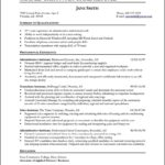 resume format for front office executive free sles