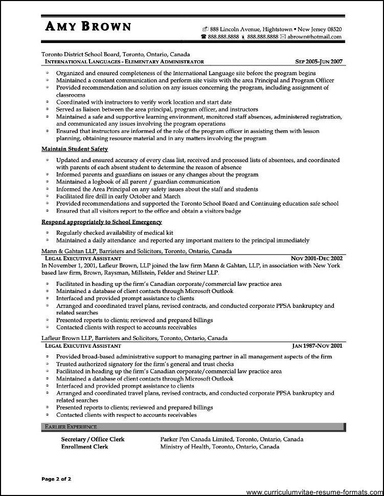 good office assistant resume