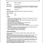 Hotel Front Office Manager Resume Sample