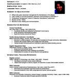 Make An Academic Resume