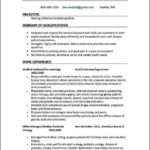 Medical Office Assistant Resume No Experience