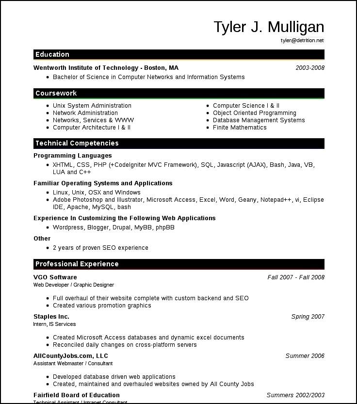 modern resume styles free samples examples format resume - Resume Templates Samples