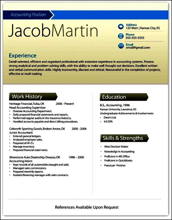 Free Resume Template Microsoft Word Simple Snapshot The Freebie