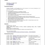 Neooffice Resume Template