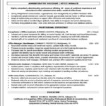 Objective Front Office Executive Resume