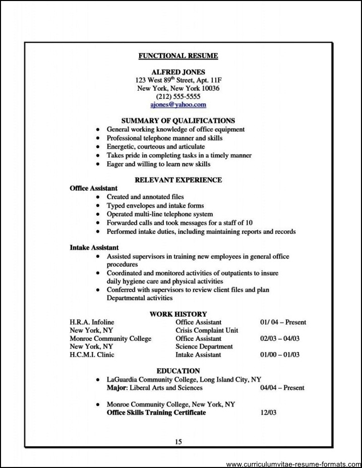 Office Assistant Resume Examples Free Samples Examples