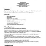 Office Assistant Resume Profile