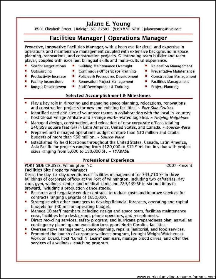 office incharge resume