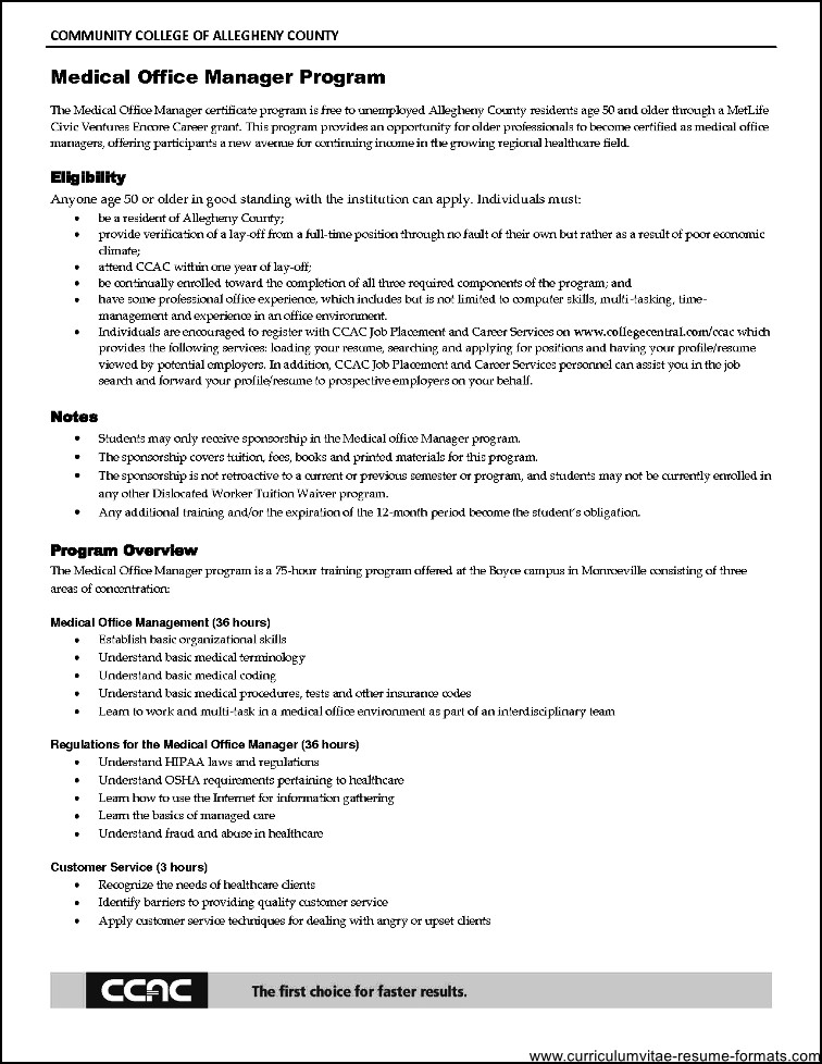 Front Office Supervisor Resume Objective