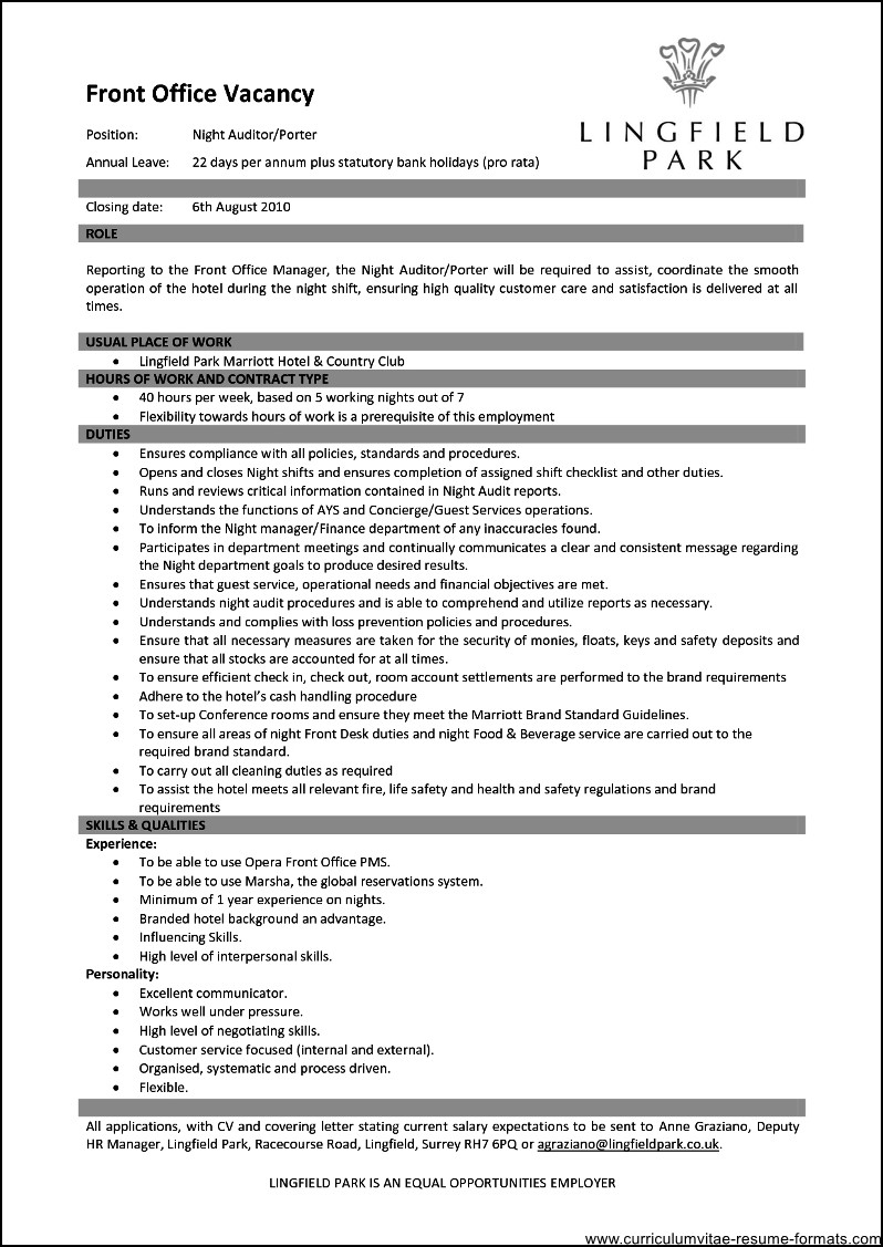 office manager resume template