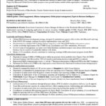 Professional Resume Format For Mba Freshers