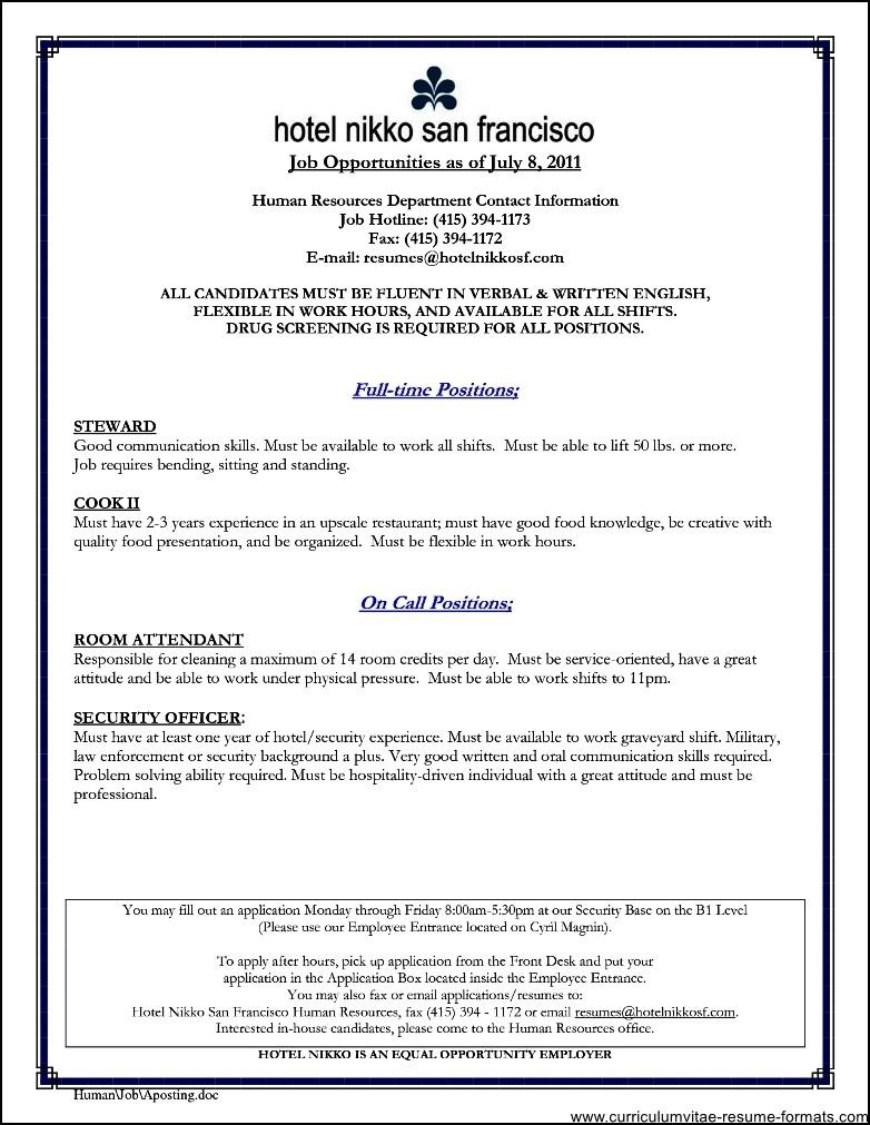 professional resume pdf