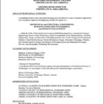 Professional Resume Samples For Engineers