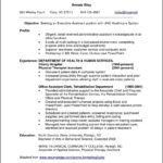 Professional Resume Samples For It Experienced