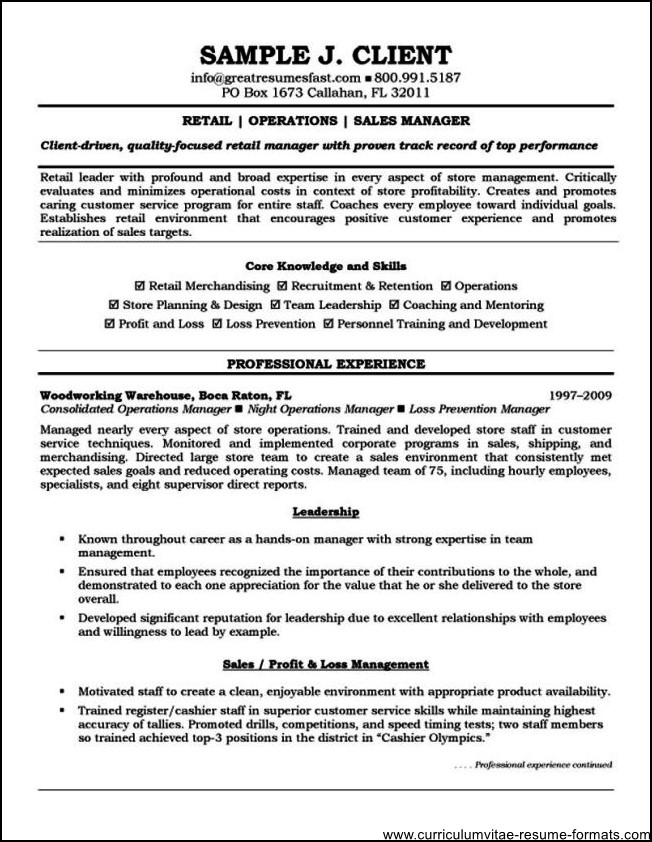 Best Ideas About Job Resume Format On  Resume Example
