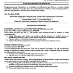 Resume For Office Manager Position