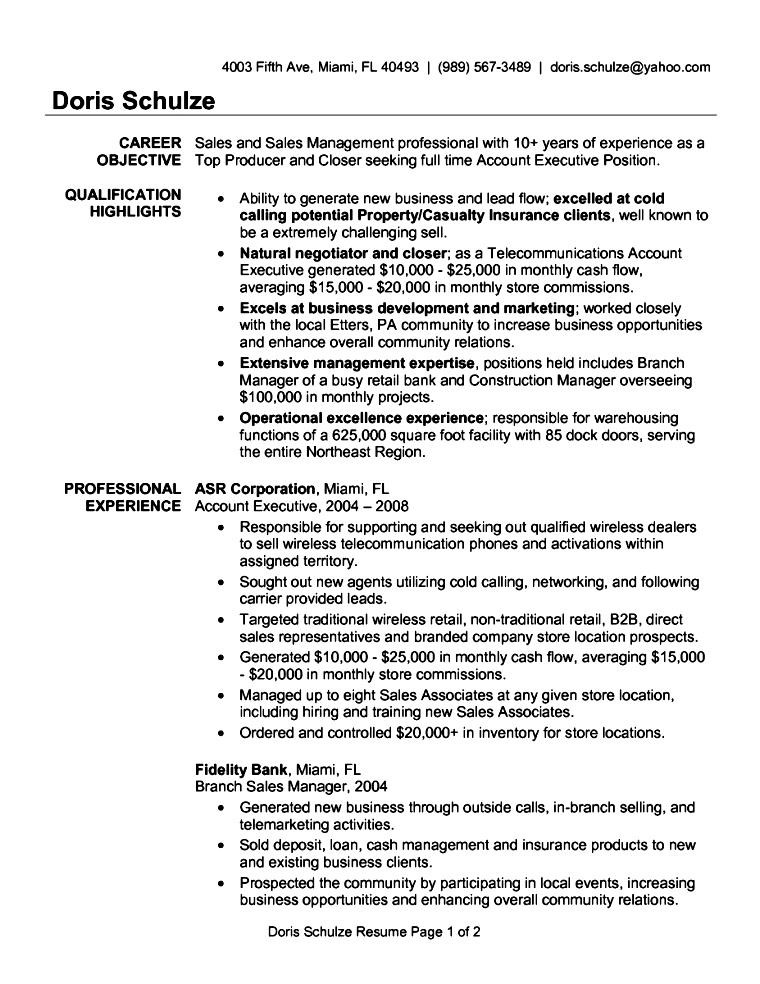 resume format accounts executive download free samples